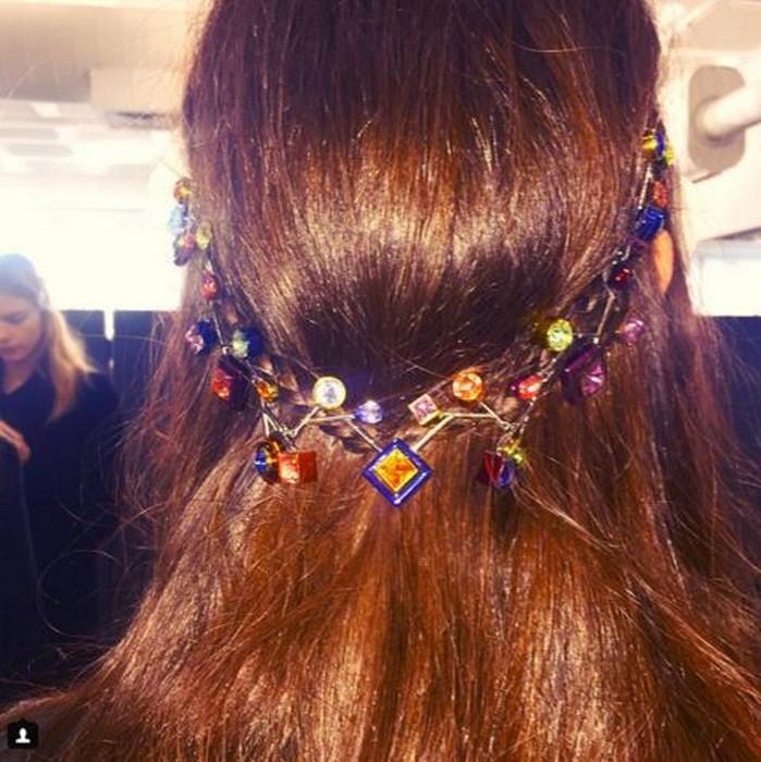 6 главных бьюти-трендов Недели моды в Лондоне:  Peter Pilotto