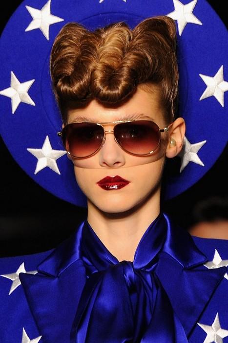 6 главных бьюти-трендов Недели моды в Лондоне: Gareth Pugh