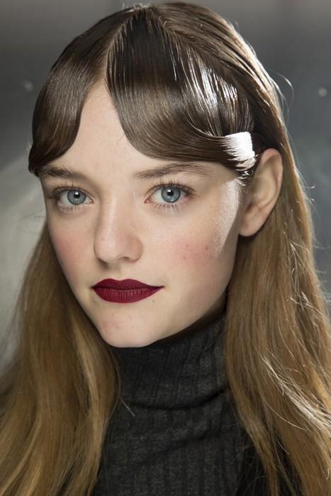6 главных бьюти-трендов Недели моды в Лондоне:  Mary Katrantzou