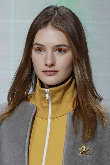 6 главных бьюти-трендов Недели моды в Лондоне: Anya Hindmarch