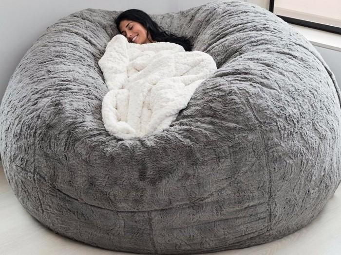 И как встать с такой уютной «кроватки»?