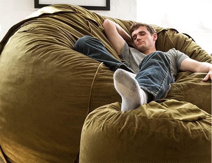Любой человек на такой подушке почувствует себя лёгким, как пёрышко.