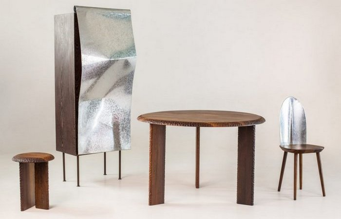 Дизайнерская мебель из отходов металла от Mabeo