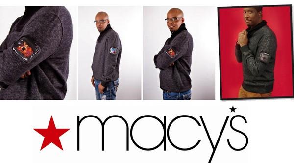 Брендовый свитер с миниатюрным дисплеем от Sean John и Macy's