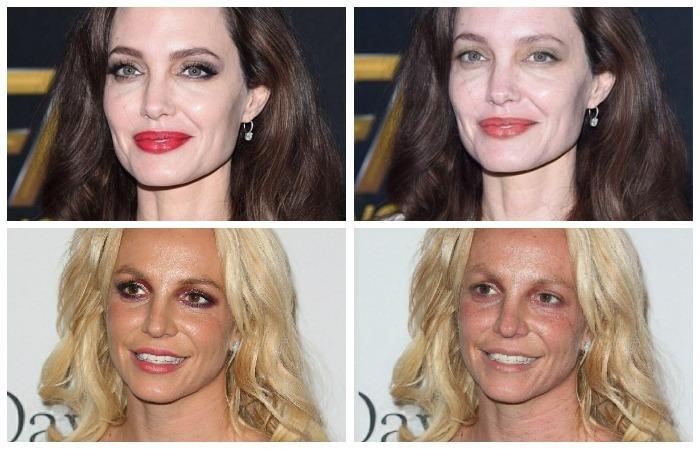 В России создали приложение для смартфона, которое «смывает» макияж с любой женщины