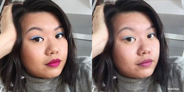 В приложении также есть функция «нанести макияж», но до такой популярности ей далеко.