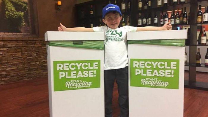 Парень начинает свой бизнес на повторной переработке пластика.