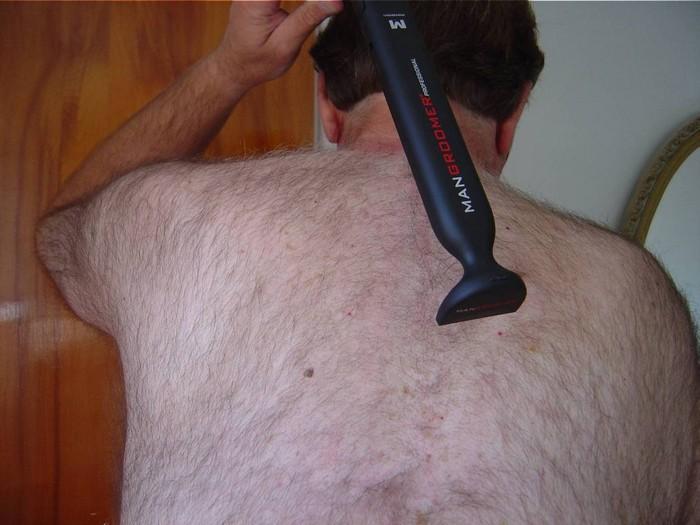 Электробритва для мужской эпиляции тела побреет спину и не только