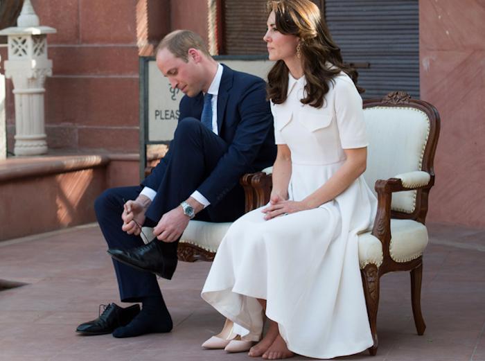 Хотя Кейт таки «засветила» ножки.