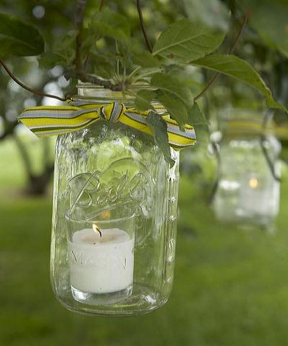 Как использовать стеклянные бутылки: 20 крутых идей