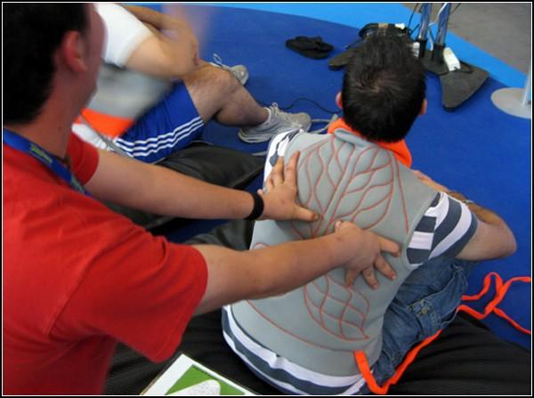 Приятный массаж и видео-игры? Легко!