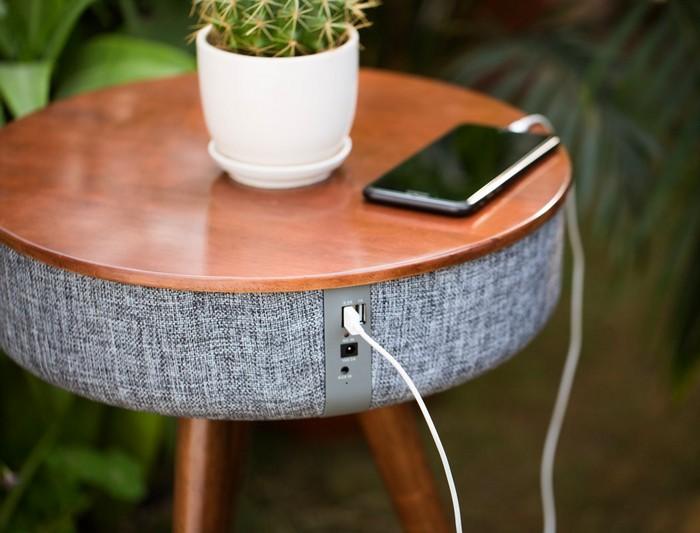 The Mellow – кофейный стол и динамики со звучанием на 360 градусов по совместительству