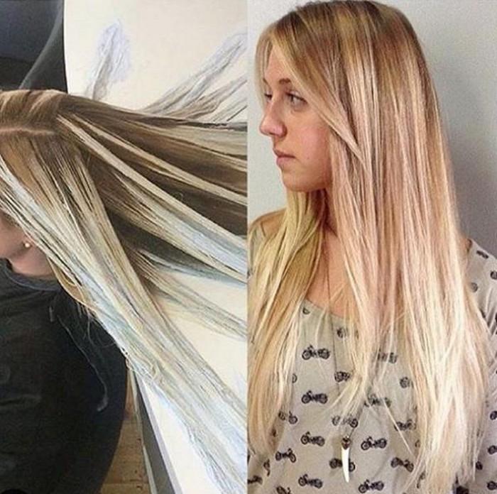 Новый тренд в окрашивании волос – mermaid hair, он же «волосы русалки»