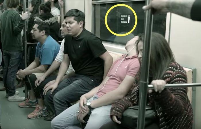 Один очень неудобный поезд в Мехико.