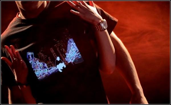 Новое поколение футболок с эквалайзером от Майкла Гразиано