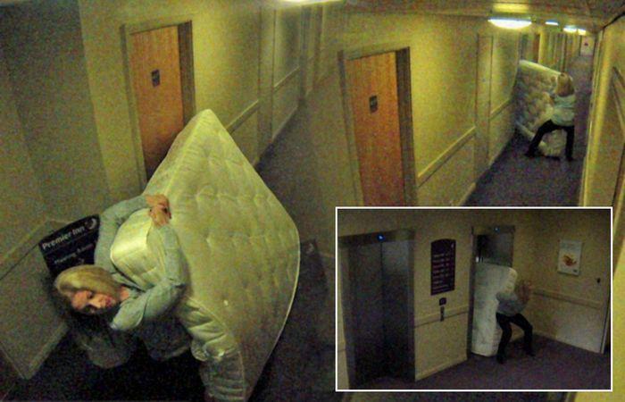 Что люди только не пытались умыкнуть из отеля…
