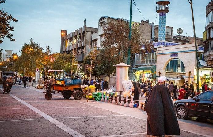 Тегеран: опасность даже не в людях.