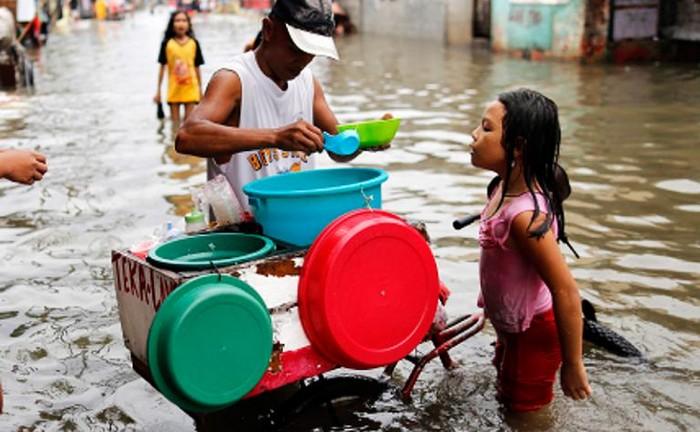 В Маниле такая картина – не редкость.