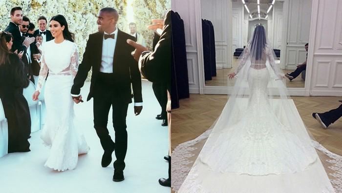 Kim e Kanye, um dos casamentos mais luxuosos da América