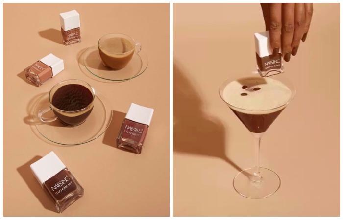 Отращиваем крепкие ногти на кофейных лаках