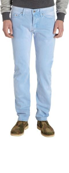 Креативные джинсы от Naked and Famous, которые меняют свой цвет