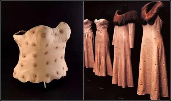 «Плотская» мода Николы Константино: коллекция «Человеческий мех»