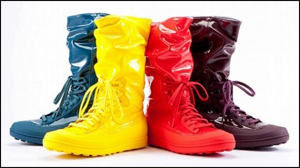 Обзор необычных галош и модных резиновых сапог: резиновые кроссовки от Nike