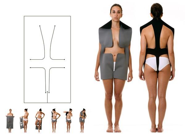 Одежда будущего по версии Йитжака Абикасисса (Yitzhak Abecassis)