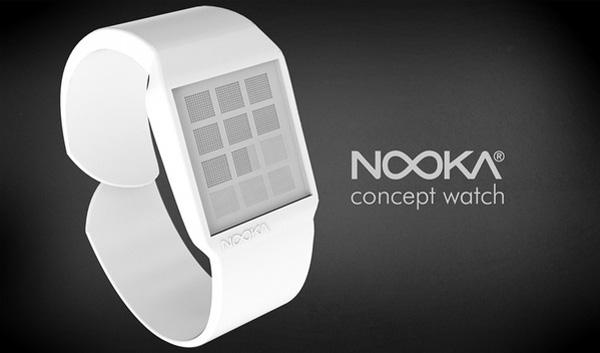 Ещё одни часы без цифр, на этот раз от Nooka