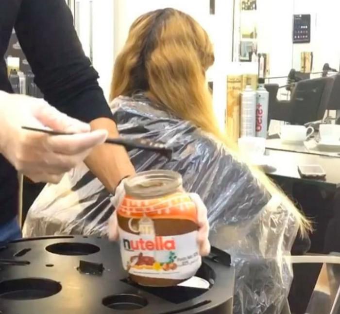 Nutella для волос – баловство, которое предлагают в некоторых весьма недешёвых салонах красоты.