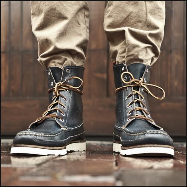 Стильные мужские туфли из натуральной кожи