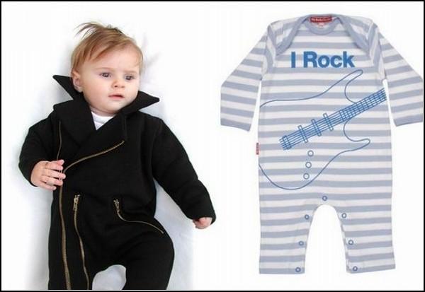 Рокерская одёжка для малышей до года и старше