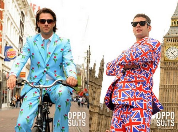 Мужские брючные костюмы OppoSuits. Не для скромняг.