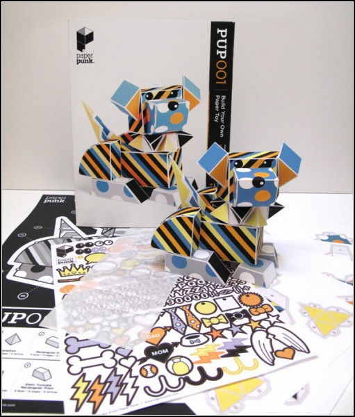 Креативный конструктор для детей и взрослых Paper Punk