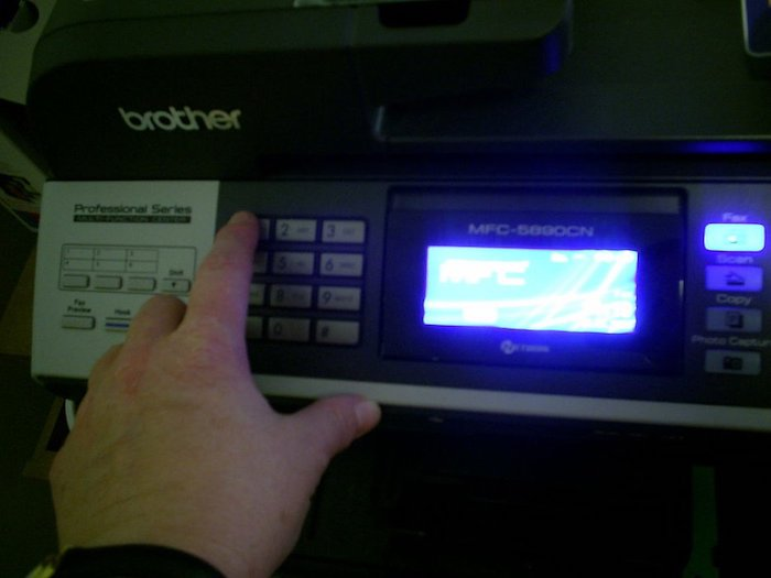 Соглашаемся со всем, что скажет принтер.