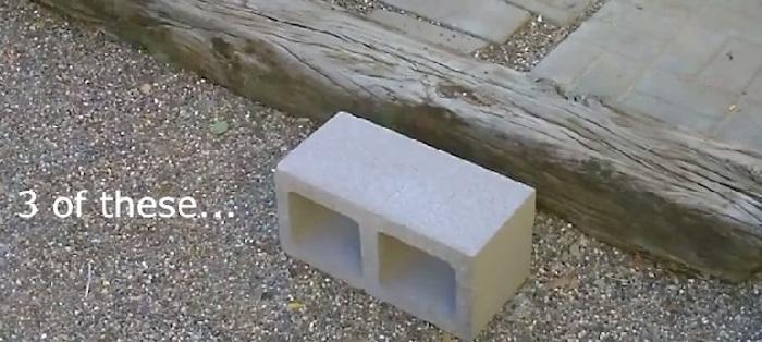 Чтобы собрать печку, необходимы только строительные блоки.