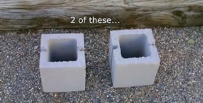 Блоки-кубы.