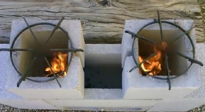 Печка готова к кулинарным экспериментам.