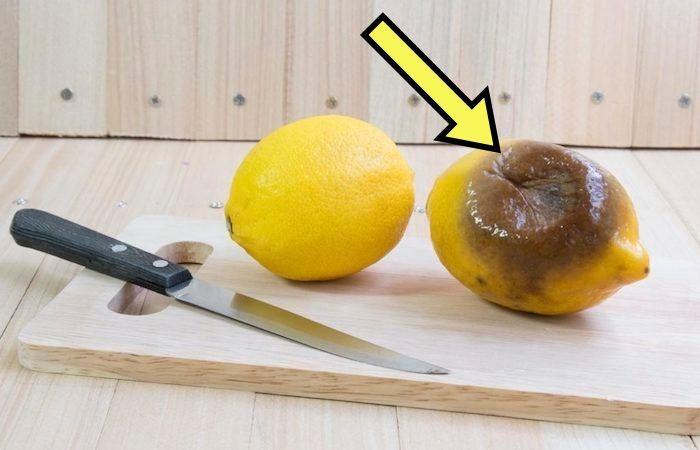 """Лимон в руках мастера выживания."""""""