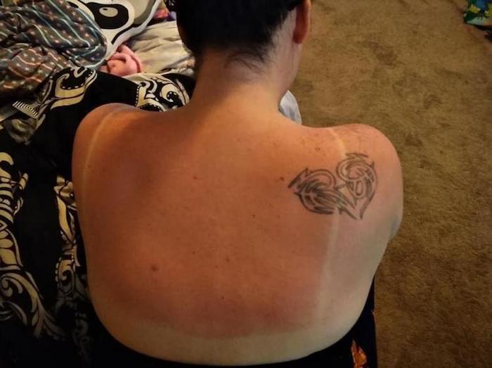 Какое лето без красной спины?
