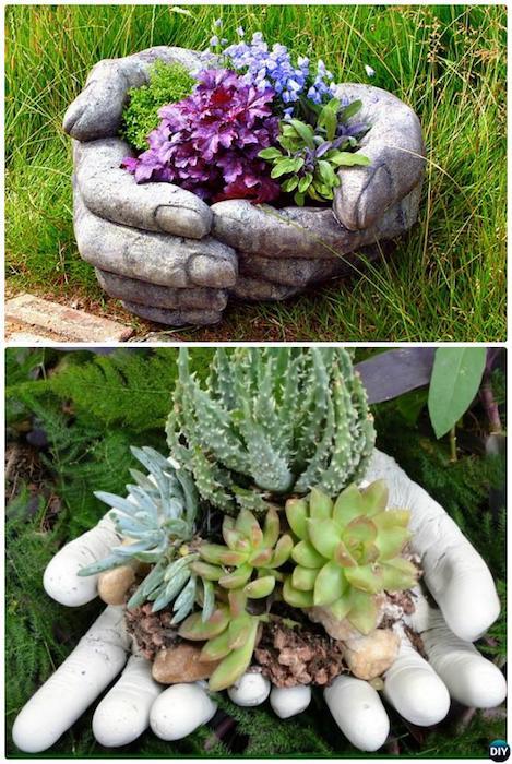 В саду эти украшения точно не останутся без внимания.