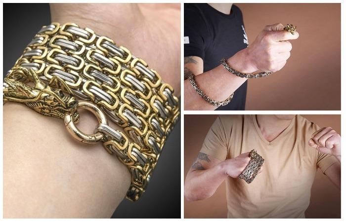 Массивный браслет, который защитит в экстремальной ситуации