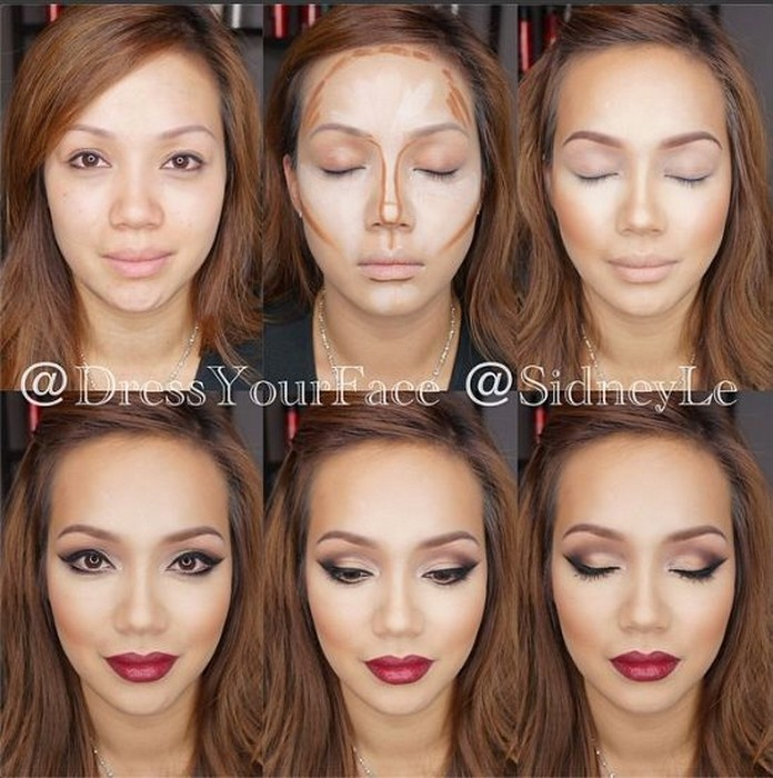 Makeup tips for wide