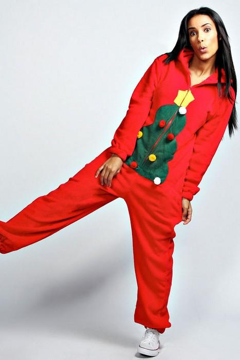 Пижама для создания лениво-новогоднего настроения