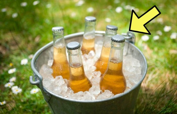 Охлаждаем тёплые напитки за считанные минуты.