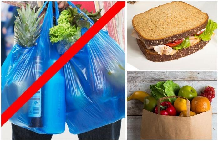 7 вещей, которые следует использовать вместо полиэтиленовых пакетов уже сегодня