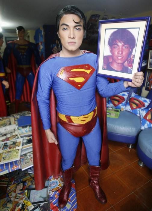 Супермен после пластики и филиппинский юноша до неё