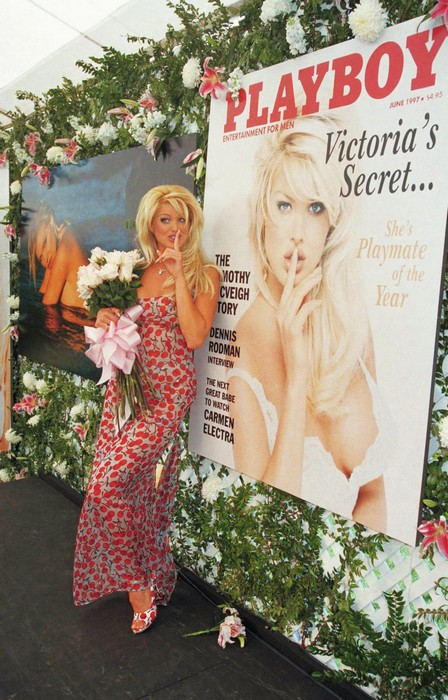 Эволюция девушек журнала Playboy: в моде блондинки