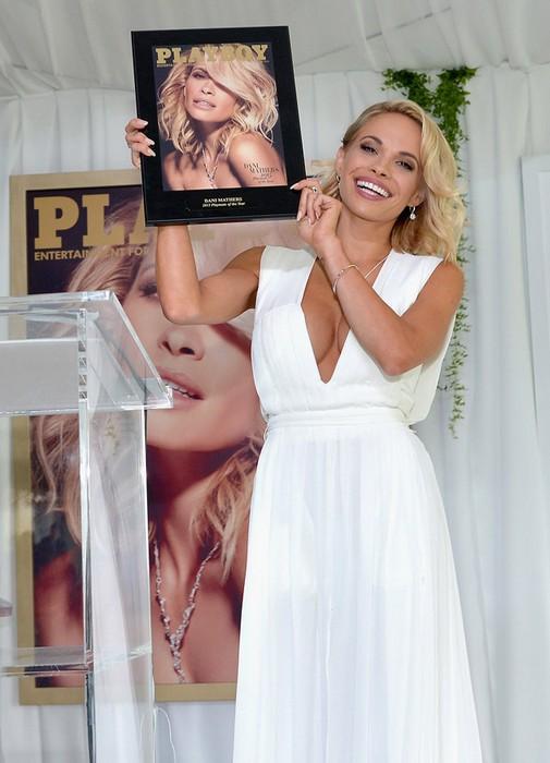 Эволюция девушек журнала Playboy: «Девушкой года»-2015 стала 28-летняя актриса и модель Дани Матерс