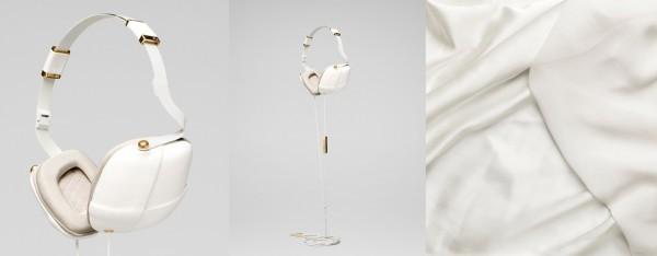 Стильные наушники для стильных женщин: Pleat от Марии вон Эйлер (Maria von Euler)
